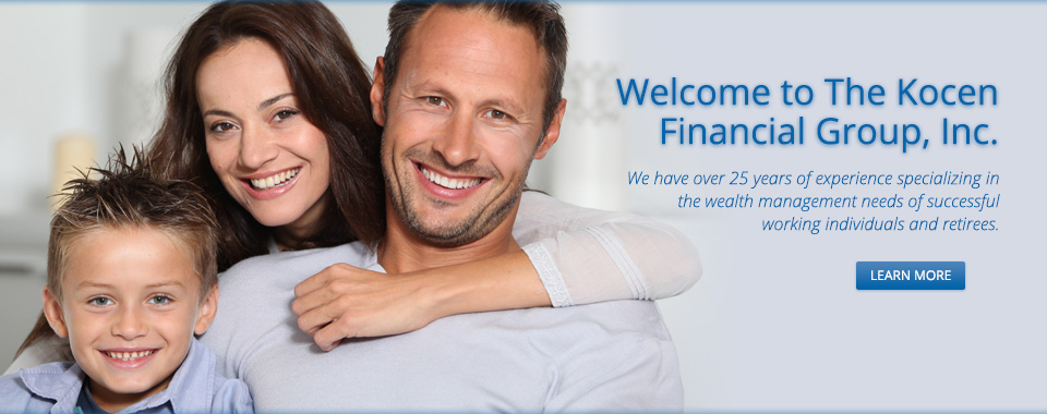 Welcome to The Kocen Financial Group,